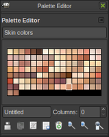 Skin Colors palete by neonyow