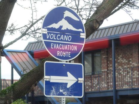 volcano sign by Psych-Stock