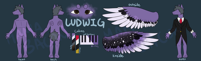 Ludwig Reference Sheet by Mama-Bacon