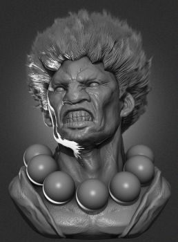 Akuma Fan Art by jsek