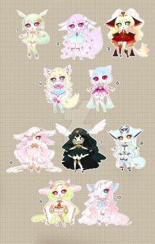 [CLOSED TY] Adoptable 77 - Kemonomimi by Puripurr