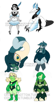 [CLOSED] Steven Universe POINTS adopts!! by crumplebottom