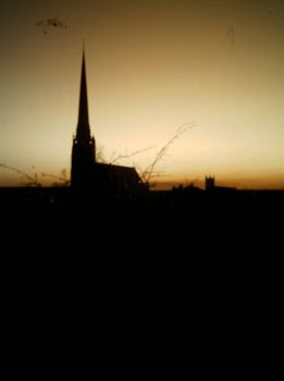 church silhouette 2 by themothgirl