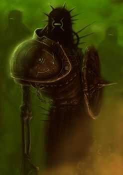 Undead Cybot Knight by ScottPurdy