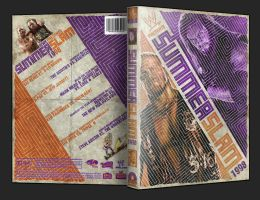 Custom WWE Summerslam 1998 DVD Cover by UseYourIllusionII