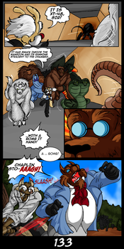 The Cats 9 Lives 6 - The Island of Dr. MorrowPg133 by GearGades