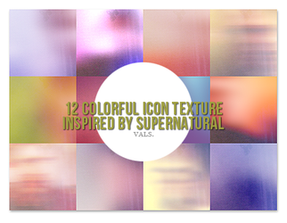 12 icon texture inspired by Supernatural by pandaisia