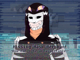 p-no | Ask the Missing Mask Merchant by Delayni