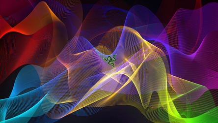 Razer Valerie 1440p Spliced Fan Wallpaper by IAMFX