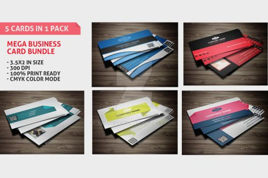 Mega Business Cards Bundle by sktdesigns