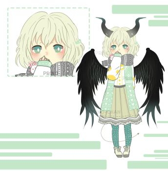 [CLOSED] Adopted - The little devil by Prino-chan