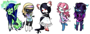 Chibi Babes by Selvarr