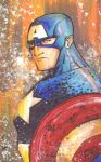 marker : Captain America by KidNotorious