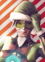 Overwatch - Jingle Tracer! by vincyWP