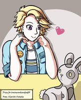 Yoosung from Mystic Messenger by charlot-sweetie