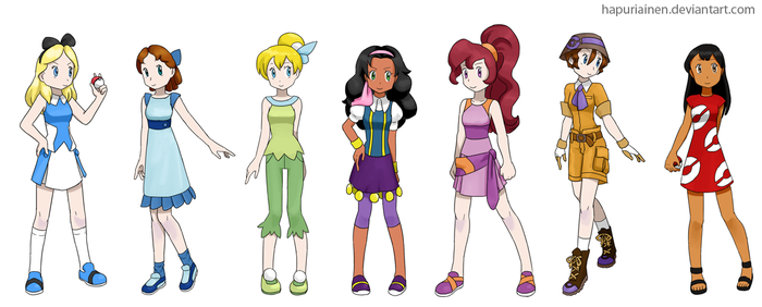 Pokemon (non) Princesses 4 by Hapuriainen