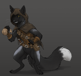 DnD Character by CoffeeholicMutt