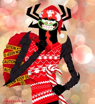Aku Christmas Cheer by GrievousAlien