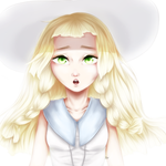 Pokemon Sun and Moon Lillie by Vallentiny