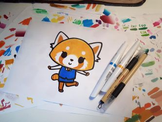 Aggretsuko by Kr1ger