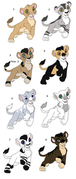 Lion adopts by N1GHTWOLFXD