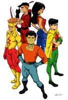 Colored Titans by chopperman69