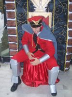 M. Bison,King of chaos by dark-king-aizen