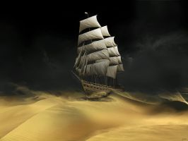Sailing The Desert by Gate-To-Nowhere