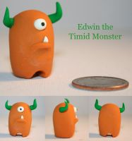 Timid Monster - Edwin by trupinys