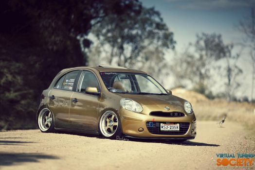 Nissan March by DacheryDesign
