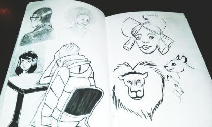 Sketchbook #5 by Jesness
