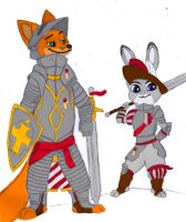 warhammer-zootopia crossover color by hugopcc