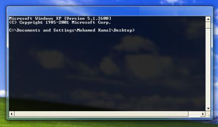 Glass CMD for XP by komalo