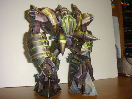 Fel Reaver Papercraft by Tinydevil421