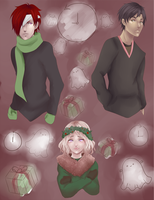 HSV: Ghost of Chirtmas Present by Mintoffee