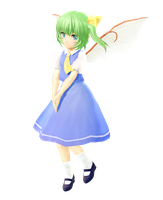 MMD Touhou - Montecore styled Daiyousei DL by OrientalCrimsonMMD