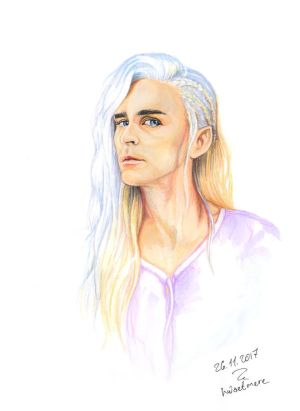 (Dark Blue Lite) Thranduil / Lee Pace by hwaetmere