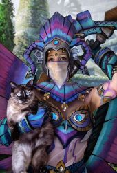 Palico and Meowster by GT18