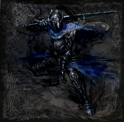 Sir Artorias the Abisswalker by AironMag