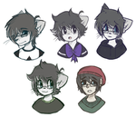 too many art styles by viixens