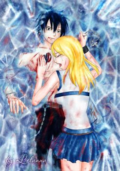 Gray and lucy by Lelanna