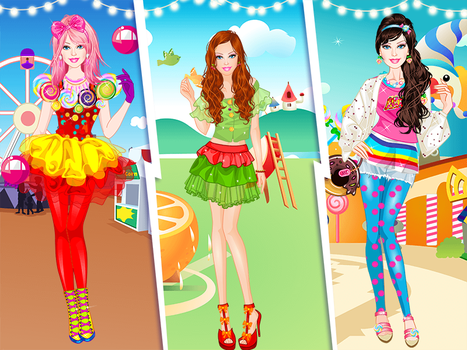 Barbie in funny outfits by Racesgirl2000-1