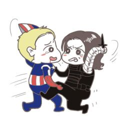 Bucky I do not want to fight you by dosruby