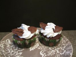 Chocolate Chip Cupcakes by yfnhsm