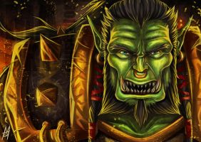 Thrall by MauroIllustrator
