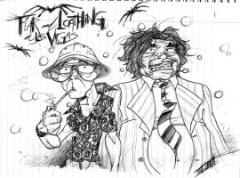 Fear and Loathing Sketch by StranglyNormal