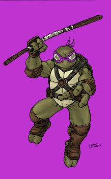 Donatello by RamonVillalobos