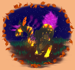 Shining Jack O' Lantern | Entry 3 | What's That!? by animalover4six