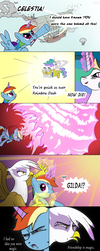 Rainbow Wake pt3 by thestoicmachine