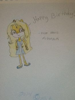 HAPPY BIRTHDAY LOUISE! by Avril--The--Cat